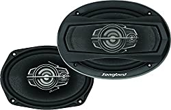 Songbird 6''X9'' Oval 500W Max 3 Way Car Speakers,SABBY ELECTRONICS,SB-B69-75