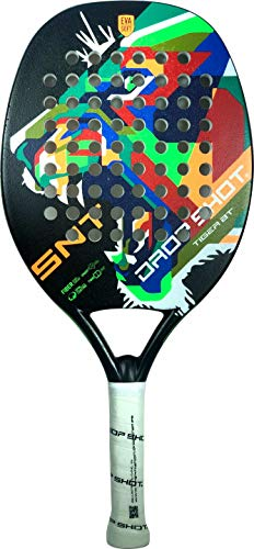 Drop Shot Tiger BT - Pala de tenis de playa recreativa