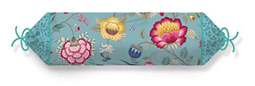 PiP Studio PiP Bettwäsche Floral Fantasy blue Nackenrolle XL gefüllt 22x70 cm