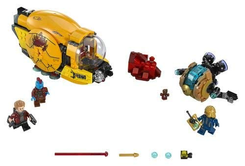 LEGO-Super Heroes Con fidential Guardians of The Galaxy Costruzioni Piccole Gioco Bambino, Multicolore, 76080