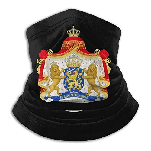 Archiba Pays-Bas Emblème National Réchauffeur de Cou Écharpe Guêtre pour Le Visage Bandanas Hiver Sports de Plein air