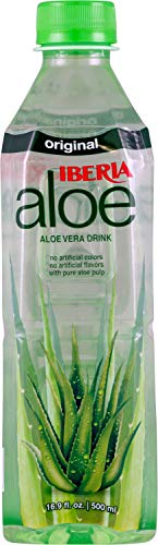 Iberia Aloe Vera Juice Drink , Original, 16.9 Fl Oz (Pack of...