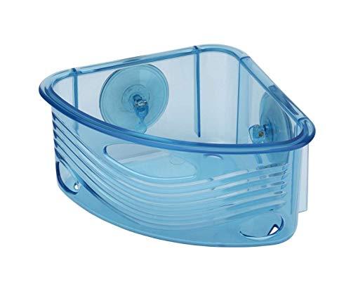 toyma Rinconera baño con ventosas Azules Ref 608