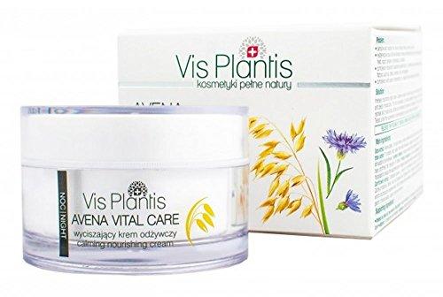 Vis plantis Avena Vital Care Noche beruhigung Crema para pieles sensibles con Avena + grano flor, 50ml