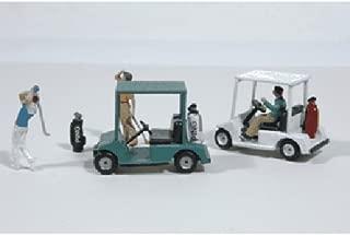 HO Golf Carts w/Bags JLI459
