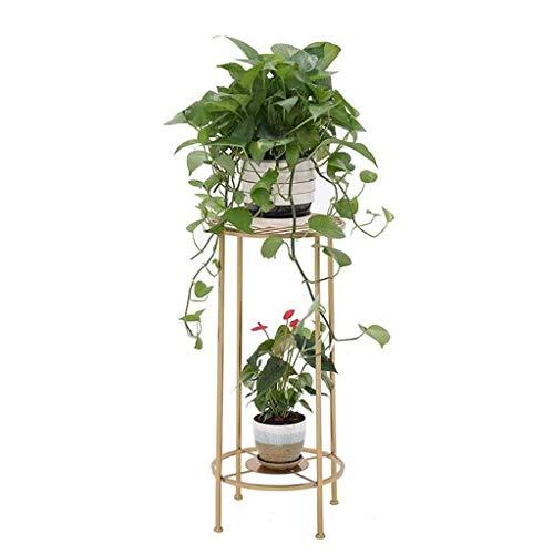 Klassieke Hoge Houder Type Bloempot Houder Planter Houders Potten met Tuinpotten en Decoratieve Home Decor Stands (Kleur: Wit)