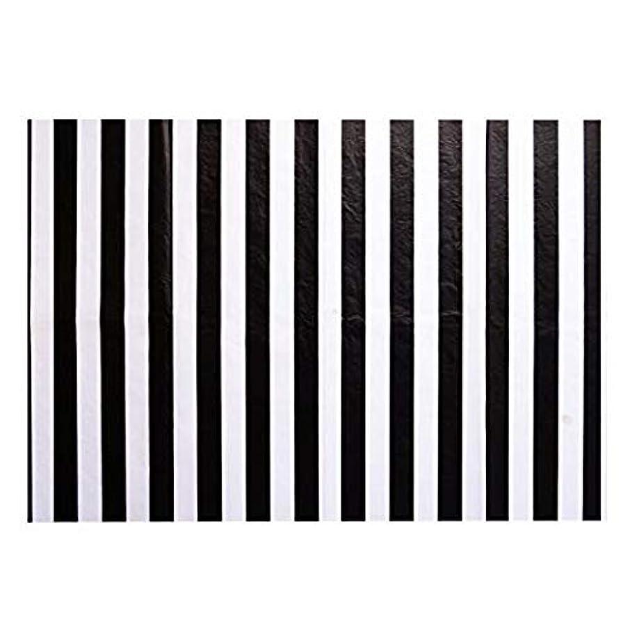 Black & White Stripes Tissue Paper 20 X 30-24 Sheet