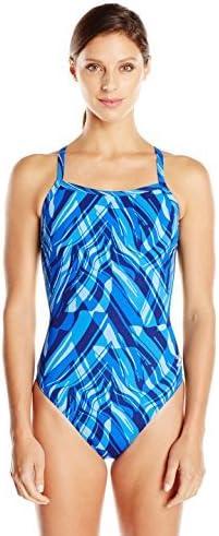 Speedo Women's Zee Wave Swimsuit Back One-Piece Same day shipping Fly Fashion