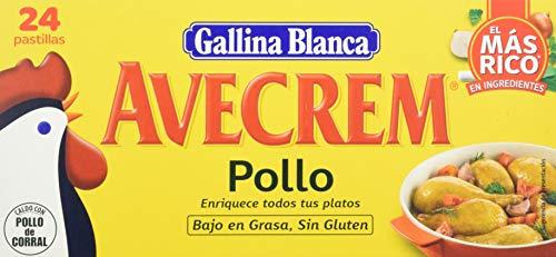 Gallina Blanca Avecrem Caldo de Pollo, 24 Pastillas