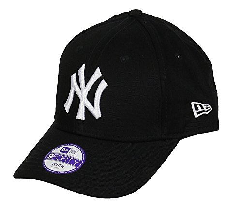 New Era York Yankees Kids 9forty Adjustable MLB League Black/White - Youth