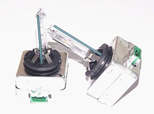 2 x D3S l'ampoule de la lampe au xénon 6000 k (départ usine généralement 4300 original k lampe hID bLUBS couleur)
