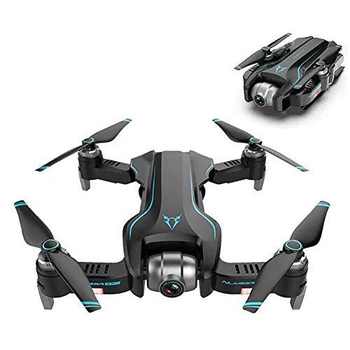Pliers GPS Mini Rc. Drone con Fotocamera 4K, Rc. Quadcopter Seguire la modalità Altitudine Holding Automatic Return Pieghevole Drone (Color : Black And Blue)