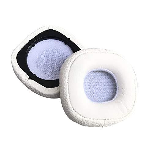 XUAILI koptelefoon vervangende oorkussens zacht schuim koptelefoon jas oordopjes, voor Marshall MAJOR III BLUETOOTH (1 paar), Kleur: wit
