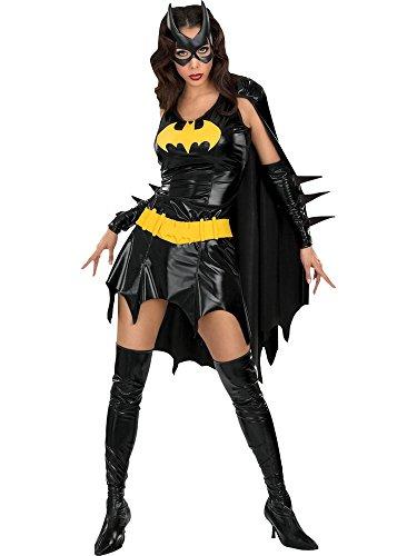 Rubbies - Disfraz de Batgirl para mujer, talla UK 8-10