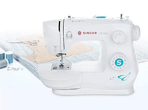 Singer Mechanical Sewing Machine, Blanco, 3337