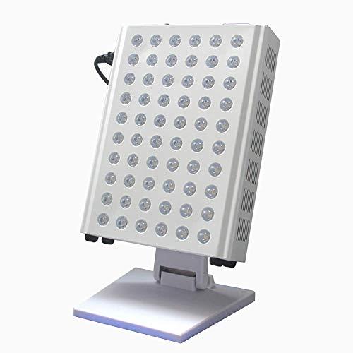 N/Z Home Equipment Terapia de luz infrarroja cercana Temporización en el hogar Luz de Terapia de luz roja LED con Soporte para rejuvenecimiento de la Piel y Alivio del Dolor 110V-240V