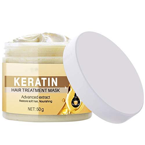 Hair Mask, Hair Treatment Mask, Deep Hair Conditioner Suitable for Dry and Damaged Hair,Hair Root Treatment, Hair Nourishing Mask Moisturizing Nourishing Repair Hair or Dry And Damaged Hair,Luckine