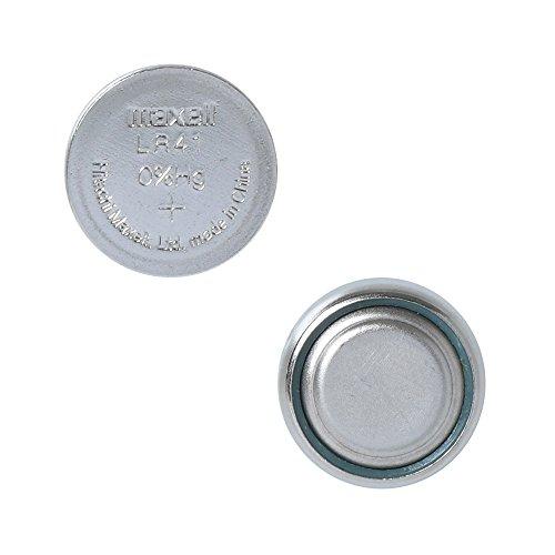 Maxell Alkaline Batterien LR41 AG3 G3A, LR736, LR41, L736, 192, GP192, V36A, 392A, 92A A (1,5 V), 10er-Pack
