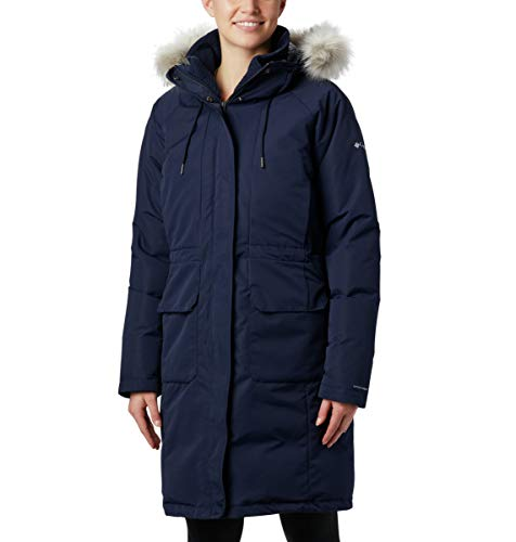 Columbia South Canyon Damen Daunenjacke, Damen, South Canyon Down Parka, Dunkle Nacht, XX-Large