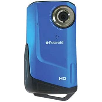 Polaroid Video Camera Waterproof - Blue (ID642-BLU)