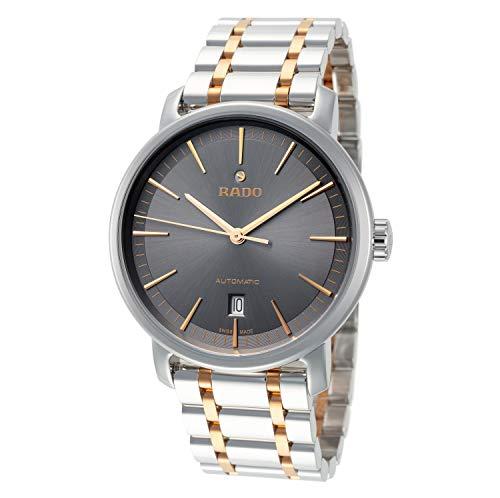 Rado Herren-Armbanduhr R14077103, Diamaster, 41 mm, graues Zifferblatt, Edelstahl