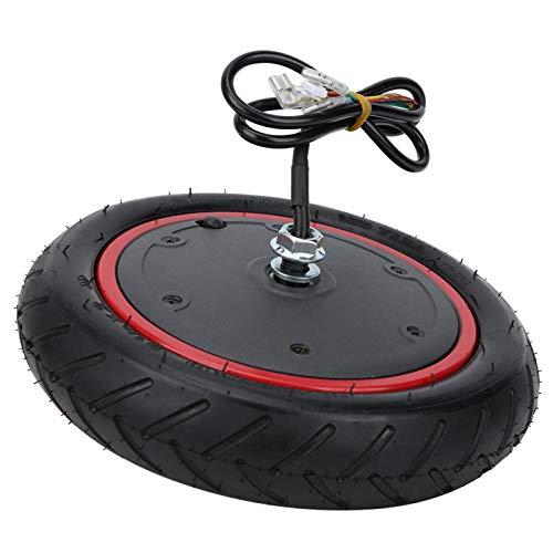 Caiqinlen Neumático Inflable de Motor de Rendimiento Estable fácil de Transportar, neumático de Rueda de conducción Compacto y Ligero, 350 W 36 V para X-iaomi Scooter M365 / M365