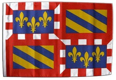 Digni® Drapeau France Bourgogne 30 x 45 cm