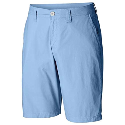 Columbia Washed Out Shorts Mixte Adulte, Blue Sky, FR : S (Taille Fabricant : 32)
