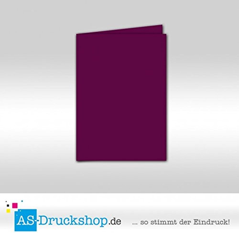 Faltkarte Doppelkarte - Purpur - Samt satiniert 25 Stück Stück Stück DIN A5 B0794WV8MR   München    Deutschland Shop    Modern Und Elegant In Der Mode  f72b5d