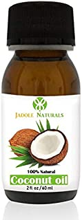 Jadole Naturals Coconut Oil For Face Body And Hair 60 ml, Pack of 1