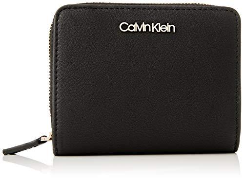 Calvin Klein Wallets, Accesorio Billetera de Viaje para Mujer, CK Schwarz, One Size