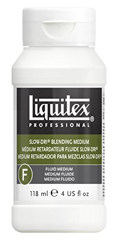 Liquitex Professional Slow-Dri Blending Fluid Medium, 4-oz (6304)