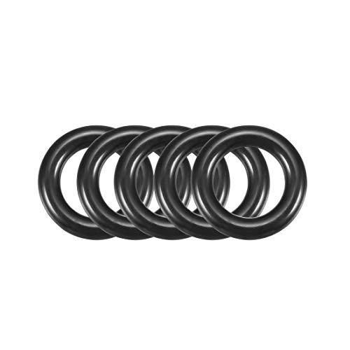16mm x 3mm Schwarz Nitrilkautschuk O Ring NBR Dichtungen Dichtungen 50Stück
