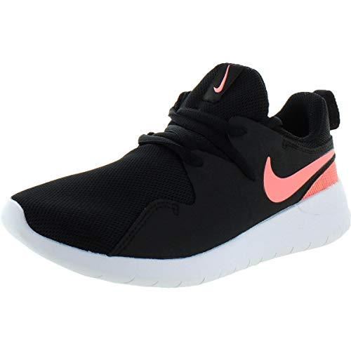 Nike Mädchen Kleinkinder Sneaker Tessen PS Laufschuhe, Mehrfarbig (Black/Lt Atomic Pink/White 002), 31 EU