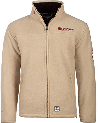 Geographical Norway Herren Fleecejacke Ubolt Camel - Brown L