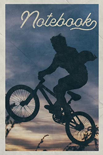 Notebook: BMXer Handy Composition Book Journal Diary for Men, Women, Teen & Kids Vintage Retro Design for the best bmx rider in the world