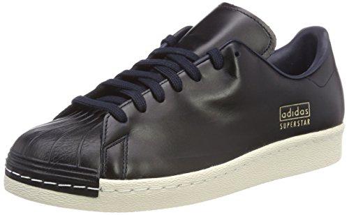 Adidas Superstar 80S Clean, Zapatillas de Deporte para Hombre, Azul Tinley/Senurb 000, 39 1/3 EU