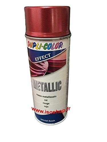 Sprühfarbe Ref 400987 Gehäuse Renovierung Metallic Farbton Rot 400ml