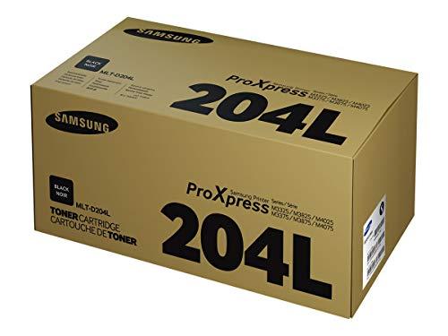 Samsung MLT-D204L/ELS Original Toner (Hohe Reichweite, Kompatibel mit: M3325/M3375/M3825/M3875/M4025/M4075, M3825/M3875/M4025/M4075, M4025/M4075) schwarz