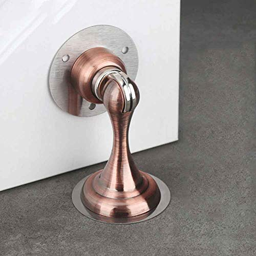 Door Stop Strong Suction Holder Protective Magnetic Door Stopper Home Hardware Non Punch Easy Install Wall Protector