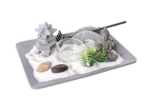 Miss Pretty Zen Garden - Candle Holder/Candleholder