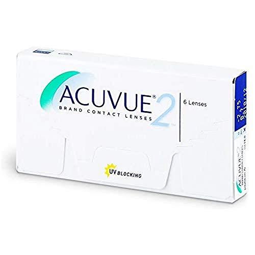 Acuvue 2-Wochenlinsen weich, 6 Stück / BC 8.7 mm / DIA 14 / -4 Dioptrien