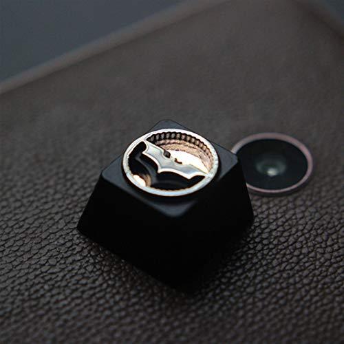 LXH-SH Suministros para computadora 1pc KeyCap Personalizado en Relieve en Relieve aleación de aleación de Llaves para el Juego Keyboard mecánico de Alta Gama DIY único para C (Color : Bruce W
