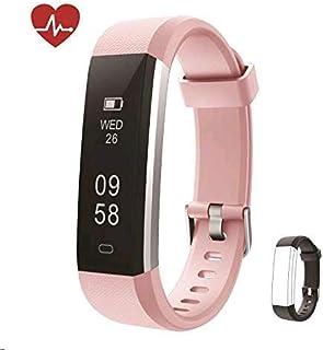 db63b3e03d81 Huyeta Pulsera Actividad Fitness Tracker HR Pulsera Inteligentecon  Pulsómetro Pulsera Deportiva y Monitor de Ritmo Cardíaco