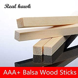 3 Sizes Mixed 80Pcs Unfinished Natural Wood Craft Dowel Rods 20 Pack Smooth Balsa Wood Sticks for Kids DIY Arts and Crafts Projects