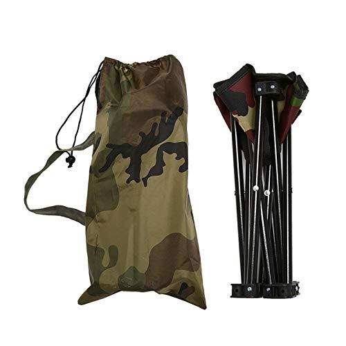 T-ara Suave y Confortable Silla Plegable portátil de Alta Gama Exterior de la Pesca de Viaje Tenting Beach Taburete de Picnic diseño de Moda
