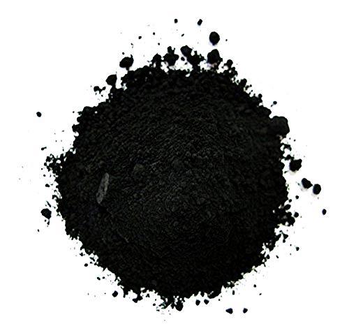 Pigmento in Polvere - Olio - Tempera - Affreschi - Encausto - Coloranti - Colorati - 100 G - Nero Vite