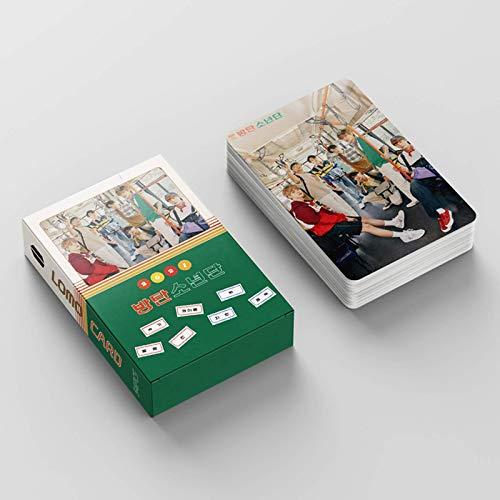 BTS BE 54 Tarjetas con fotografía del álbum BE de BTS, tarjetas lomo BANGTAN Boys,...