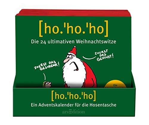 HoHoHo! (10 St. im Display): Der ultimative Weihnachtswitze-Kalender