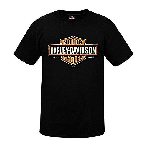 HARLEY-DAVIDSON® Long Logo T-Shirt and Warr's London Timeless Legends Back (L)